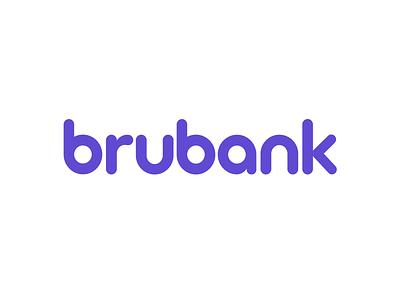brubank - Branding for the world's largest digital bank latam banco tech money brazil startup banking bank logo graphic design design clean branding brandbook brand