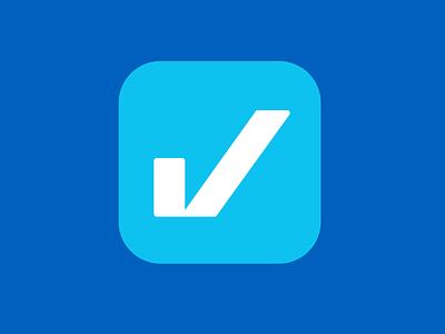 Cuentas OK App Icon & Branding ok check blue bills fintech payment icon app vector illustration logo graphic design design clean branding brandbook brand
