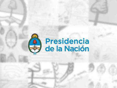 Rebranding for the Office of the President of Argentina flag official government nation country politics president argentina vector ui illustration logo graphic design design clean branding brandbook brand