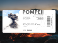 A Ticket to Pompeii
