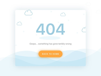 #008 - 404 Pages  | Daily Ui Challenge