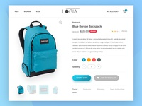 012 - Ecommerce Shop | Daily UI Challenge