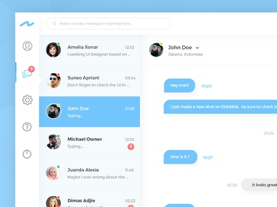 #013 - Direct Message | Daily UI Challenge