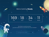 #014 - Countdown | Daily UI Challenge