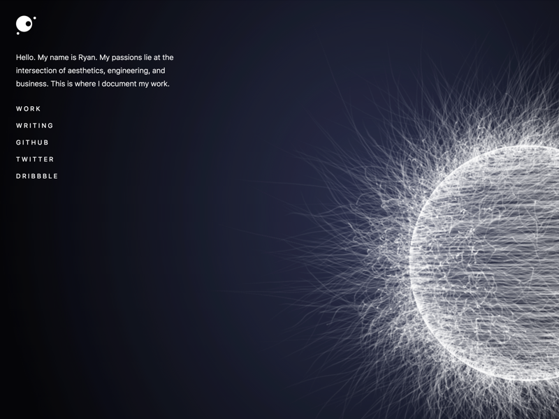 Particle Physics Sphere by Ryan S  Rich on Dribbble