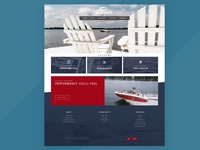 Rinker Boats Homepage Design