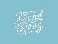 Rachel Spring Logo