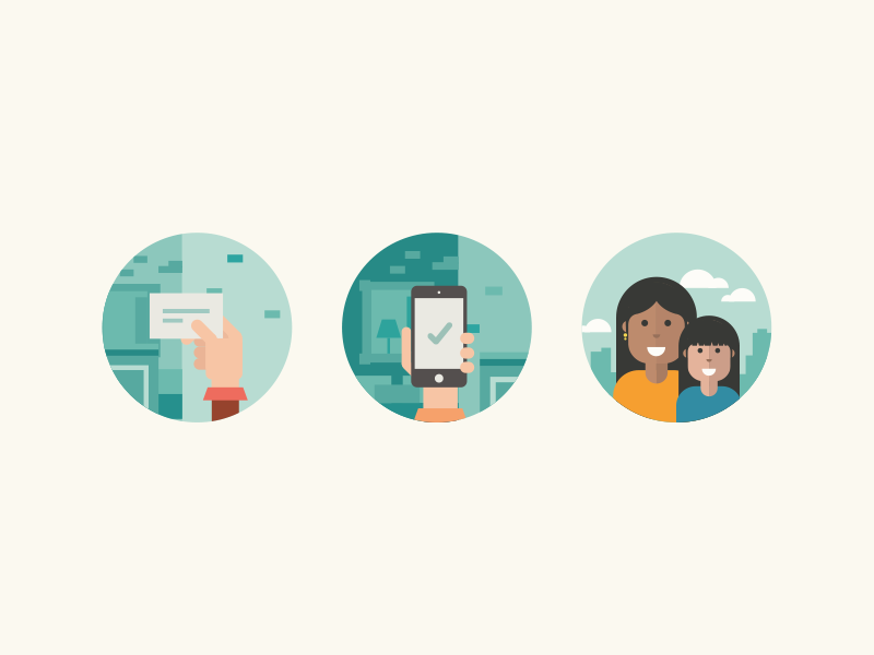 Scenery wic illustrations dribbble