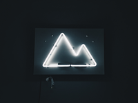 The Scenery Neon Sign