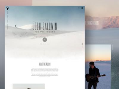 The War Is Over - Josh Baldwin