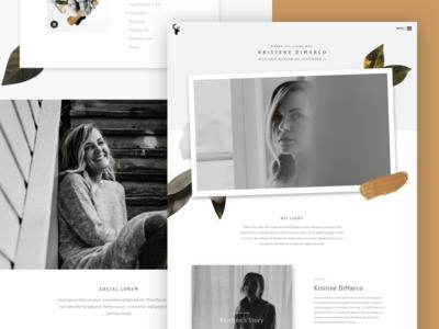 Kristene Dimarco Album Landing Page