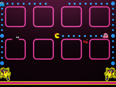 Ms Pacman Iphone Wallpaper By Kal Michael On Dribbble