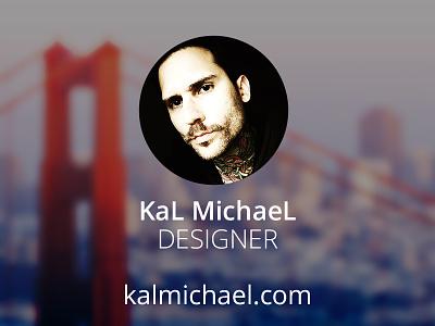 kalmichael.com version 3 web design portfolio announcement