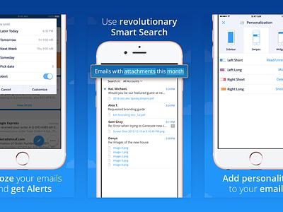 Spark 1.5 App Store Views  iphone app ios email spark app store