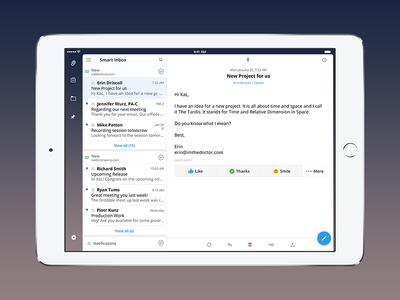Spark for iPad by Readdle spark ipad ios email app store app