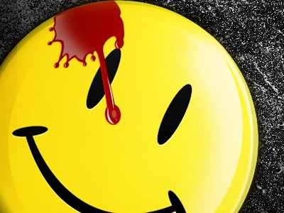 The Comedian (The Watchmen) iPhone wallpaper set iphone wallpaper watchmen yellow smilie blood the comedian