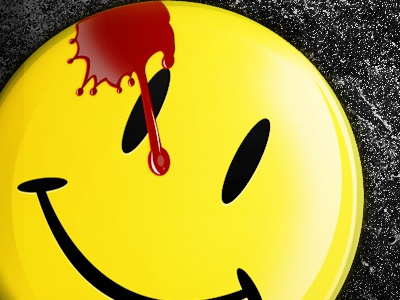 The Comedian (The Watchmen) iPhone wallpaper set iphone wallpaper watchmen yellow smilie blood the comedian