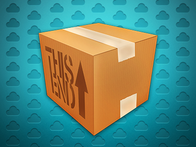 Dispatch - Version 2 icon box brown cardboard stacks rapidweaver