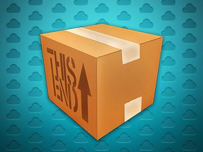 Dispatch - Version 2 icon box brown cardboard stacks rapidweaver