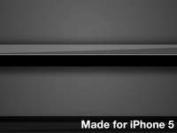 Black Shelves Wallpaper For iPhone 5