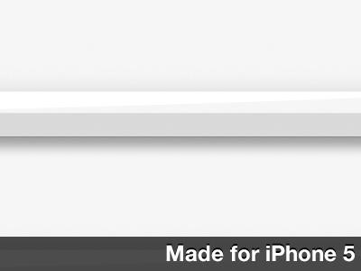 White Shelves Wallpaper For iPhone 5 wallpaper iphone5 shelves white