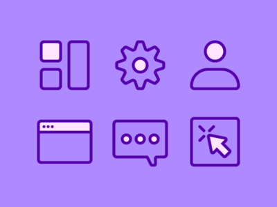 Student Project Icons