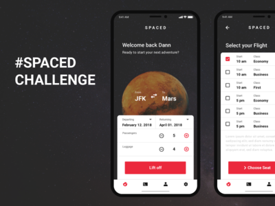 #SPACEDchallenge Entry