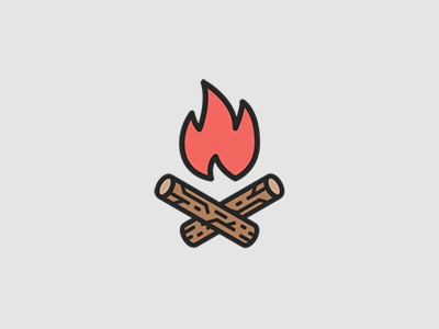 W + fire