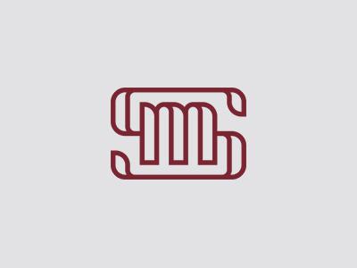 SM monogram