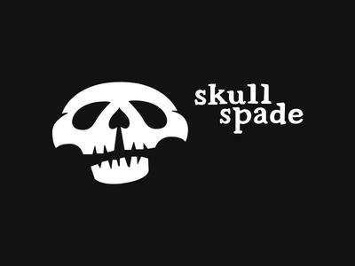 skull spade