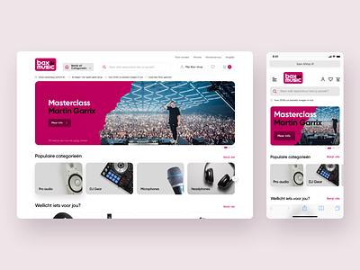 Proposal E-commerce saas interface online shop electronic ux uiux ui ecommerce online store store web