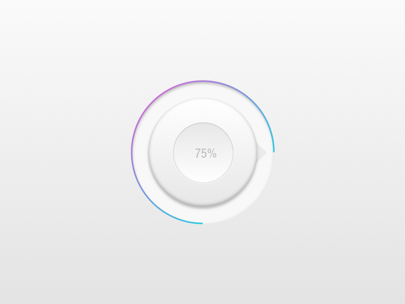 Loading icon gradient waiting apple ui button loading icon