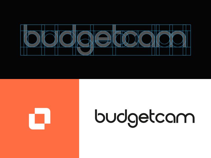 Budgetcam   custom font
