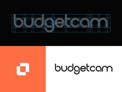 Budgetcam | custom font interface branding design font custom font logotype logo design vector typography branding logo design