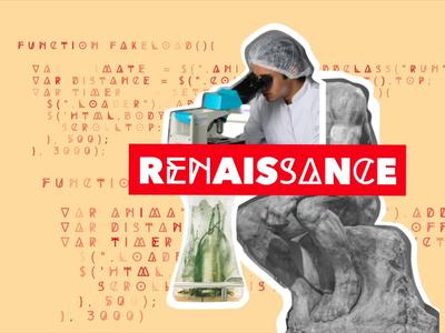 Field Atlas Renaissance brand identity branding marketing logo motion design animation digital product
