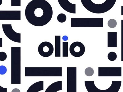 Olio Logo brand identity branding marketing logo motion design animation digital product