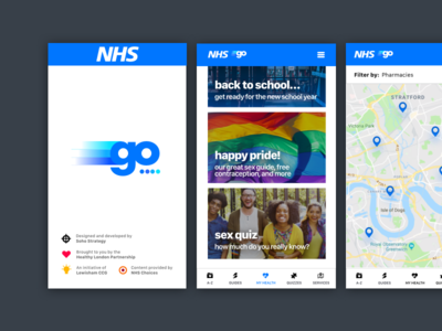 NHS Go App v2 mobile app mobile android ios nhs national health service nhs go