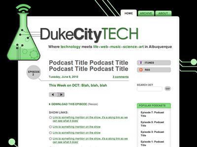 Duke City Tech, Beta web site