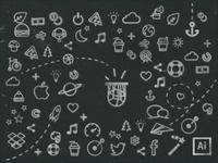 Fantasmatic Freebies Icons