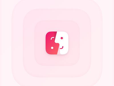 让交友 china yin yang hello friends chat sketch app icon