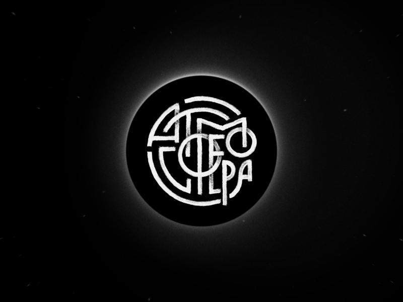 Atmosphere horizon planet atmosphere space black  white white black logo