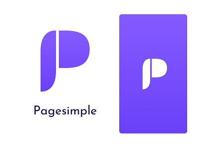 Pagesimple identity update identity logo brand design brand