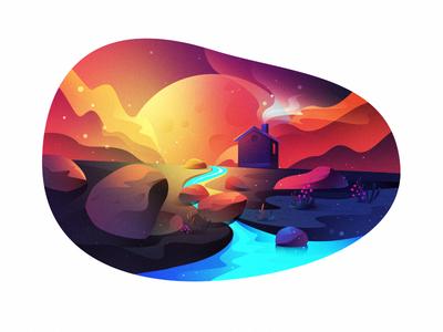 Scenery Illustration