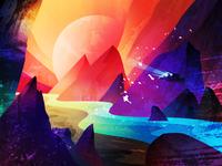 Planet illustration