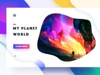 Planet illustration 02