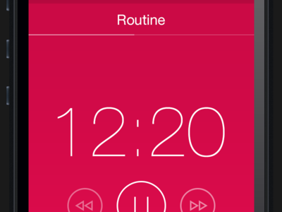 Routine for iOS 7 timer intervals ios 7 iphone
