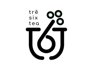 Tre Six Tea Conceptual Brand Logo branding logo graphic design