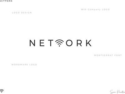 Wordmark Logo Design- NETWORK word mark logo wordlogo vector typography broadband logo modern logo minimal logo abstract logo logofolio2k21 logo inspiration logo designer logo design illustration graphic design wifi logo design brand logo logo branding brand identity