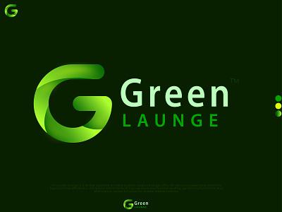 Modern Logo design- Green LAUNGE letter logo g logo g vector logo inspiration logofolio2k21 colorful logo modern logo company logo hotel logo launge logo abstract logo green logo typography design vector icon illustration graphic design logo branding