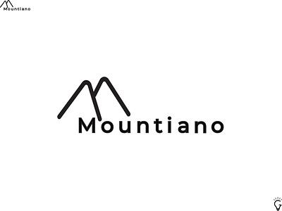 Logo Design- Mountiano workmark logo fashion brand vector logo m logo minimalist logo logo designer logo design modern logo brand identity minimalist minimal logo typography design vector icon illustration graphic design logo branding